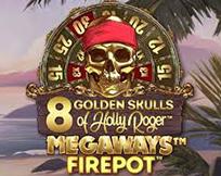 8 Golden Skulls of Holly Roger Megaways ™